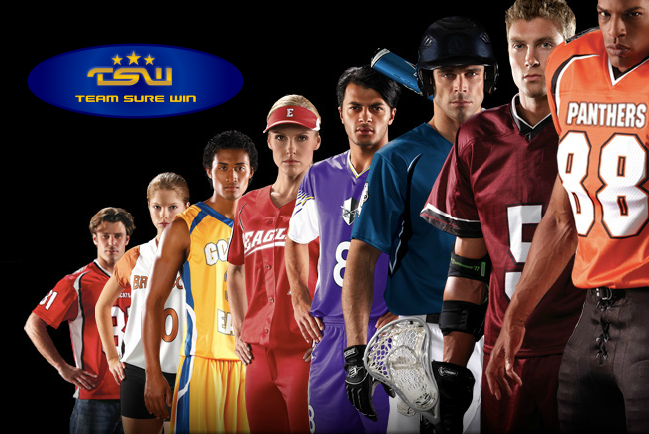 All sports uniforms