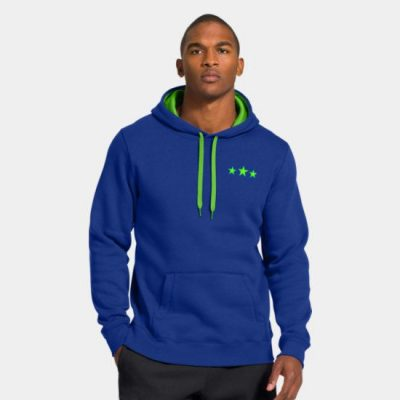 Hooded - Blue Pull-over