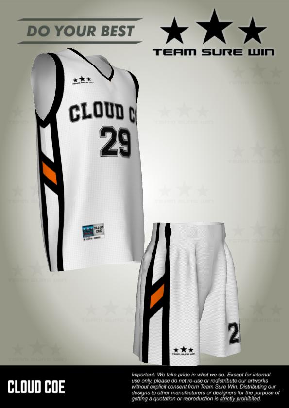 Cloud Coe Basketball Uniforms