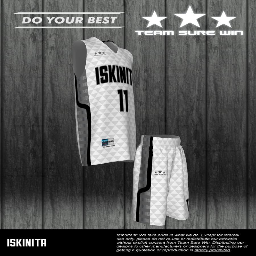 Iskinita Basketball Uniforms